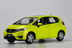 1/18 Dealer Edition Honda Fit (Yellow)