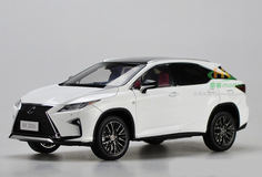 1/18 Dealer Edition Lexus RX F Sport (White)