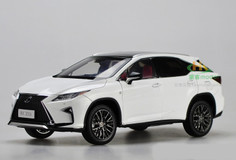 1/18 Dealer Edition Lexus RX F Sport (White)