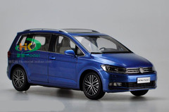 1/18 Dealer Edition 2016 Volkswagen VW Touran (Blue)