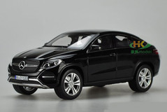 1/18 Norev Mercedes-Benz MB GLE Coupe (Black) Diecast Car Model