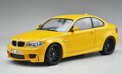 1/18 Minichamps BMW 1M Coupe (Yellow)