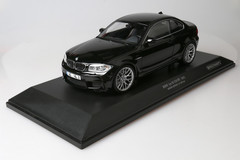1/18 Minichamps BMW 1M Coupe (Black)