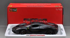 1/18 BBurago Signature Ferrari 488GTB (Matte Black)