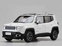 1/18 Dealer Edition Jeep Renegade (White)