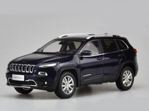 1/18 Dealer Edition Jeep Cherokee (Blue)