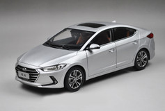 1/18 All New Dealer Edition 2017 Hyundai Elantra (Silver)