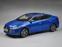 1/18 All New Dealer Edition 2017 Hyundai Elantra (Blue)