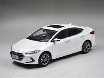 1/18 All New Dealer Edition 2017 Hyundai Elantra (White)