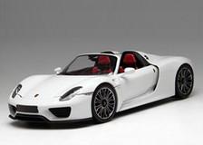 1/18 Minichamps Porsche 918 Spyder Limited (White)