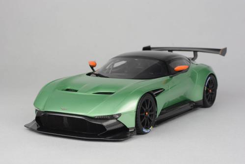 Aston Martin Vulcan Price >> 1/18 Frontiart Aston Martin Vulcan (Green) Resin Model Limited 999 - LIVECARMODEL.com