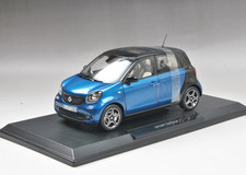 1/18 Norev Mercedes-Benz Smart 4 Door (Blue)