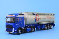 1/50 WSI Volvo FH4 Globetrotter (Transport Greys Logistics)