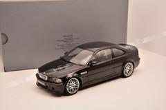 1/18 Kyosho BMW E46 M3 CSL (Black)