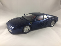 1/18 Kyosho 1989 Ferrari Testarossa (Blue) Custom Painted