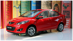 1/18 Dealer Edition Mazda 2 Sedan (Red)
