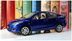 1/18 Dealer Edition Mazda 2 Sedan (Blue)