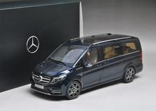 1/18 Dealer Edition Mercedes-Benz V-Class V-Klasse Viano Vito (Dark Blue)