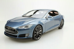 1/18 LS Collectibles Tesla Model S P100D (Grey) Car Model