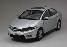 1/18 Dealer Edition Honda City (Silver)