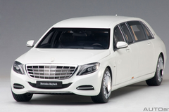 1/18 AUTOart MERCEDES MAYBACH S 600 S600 PULLMAN (WHITE) Diecast Car Model 76296
