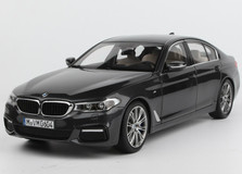1/18 Dealer Edition BMW G30 5 Series 530i 540i M550i (Grey Black) Diecast Car Model