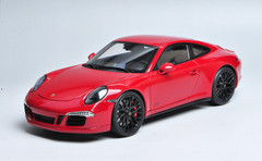 1/18 Schuco 911 Carrera GTS Hardtop (Red) Diecast Car Model