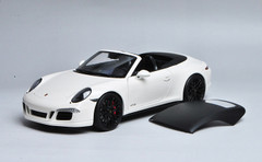 1/18 Schuco 911 Carrera GTS Convertible (White) Diecast Car Model