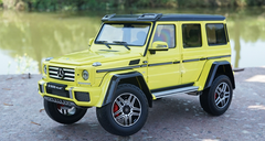 1/18 Almost Real Mercedes-Benz G-Class G500 4x4 (Yellow)