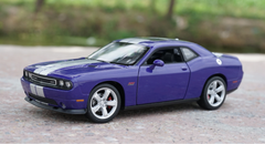 1/24 Welly FX Dodge Challenger (Purple/Blue)