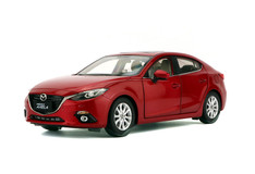 1/18 Dealer Edition MAZDA 3 Axela Sedan (Red)