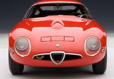 1/18 AUTOart ALFA ROMEO TZ 1963 - RED Diecast Car Model