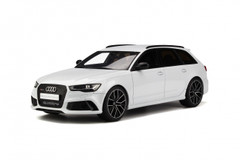 1/18 GTSpirit Audi RS6 ABT Avant C7 (White) Resin Model Limited