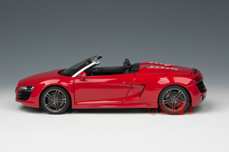 1 18 Kyosho Audi R8 Spyder V10 Red Livecarmodel Com