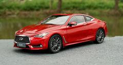 1/18 Dealer Edition Infiniti Q60S Q60 S (Red) Diecast Car Model