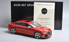 1/18 MINICRAFT Audi RS7 Sportback (Misano Red) Limited 300