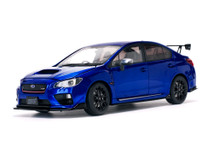 1/18 Sunstar Subaru WRX STI S207 (Blue) Diecast Car Model