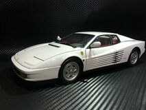 Ultra RARE 1/18 Kyosho 1989 Ferrari Testarossa (White)