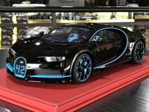 1/12 Kyosho Bugatti Chiron Resin Model (Black) Limited 350 Pieces!