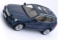 1/18 Dealer Edition BMW X3 (Blue)