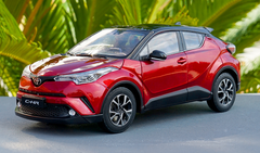 1/18 Dealer Edition Toyota C-HR CHR IZOA (Red) Diecast Model