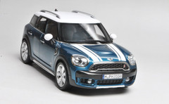 1/18 Dealer Edition MINI COOPER S COUNTRYMAN (BLUE) CAR MODEL!