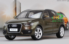 1/18 Dealer Edition Audi Q3 (Brown) Diecast Car Model
