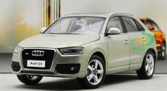 1/18 Dealer Edition Audi Q3 (Cream) Diecast Car Model