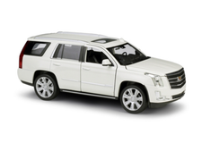1/24 Welly FX 2017 Cadillac Escalade (White) Diecast Model