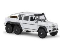 1/24 Welly FX Mercedes-Benz G63 AMG 6x6 (White) Diecast Model