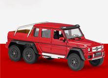 1/24 Welly FX Mercedes-Benz G63 AMG 6x6 (Red) Diecast Model