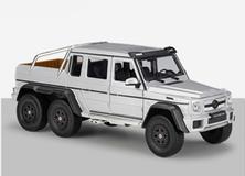 1/24 Welly FX Mercedes-Benz G63 AMG 6x6 (Silver) Diecast Model