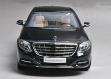 1/18 Almost real Almostreal Mercedes-Benz S-Class S600 Maybach (Black)