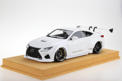 1/18 VAV Lexus RC F RCF Liberty Walk LB Wide Body Resin Enclosed Model (White)